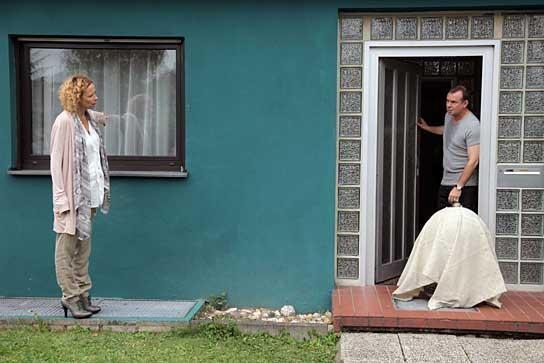 Ausgerechnet Sibirien: Katja Riemann e Joachim Król in una scena