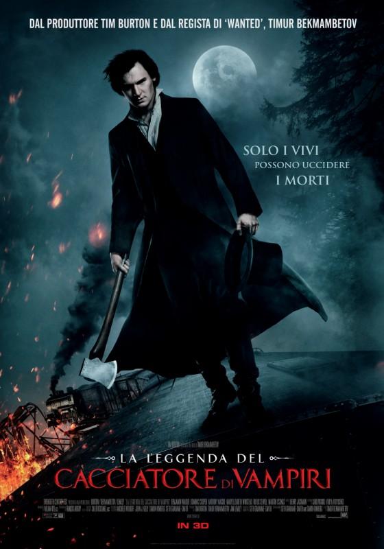 La leggenda del cacciatore di vampiri: la nuova locandina italiana