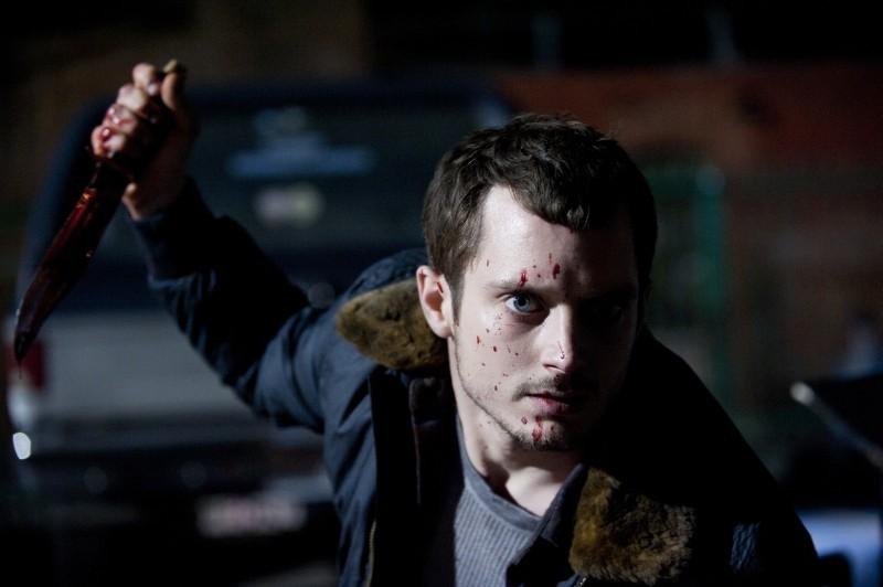 Maniac: un efferato Elijah Wood in una scena del remake dell'omonimo horror del 1980 diretto da William Lustig