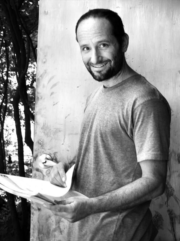 Post Tenebras Lux: il regista del film Carlos Reygadas sul set del film