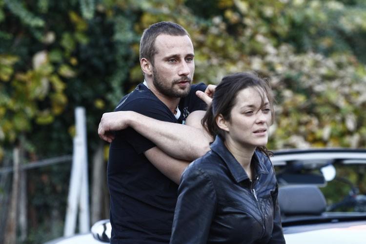 Rust and Bone: Marion Cotillard e Matthias Schoenaerts in una scena del film