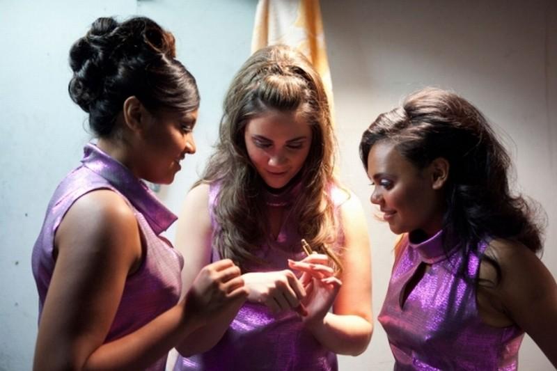 The Sapphires: Jessica Mauboy, Shari Sebbens e Miranda Tapsell in una scena del film