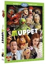 La copertina di I Muppet (blu-ray)