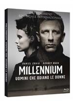 La copertina di Millennium - Uomini che odiano le donne (blu-ray)