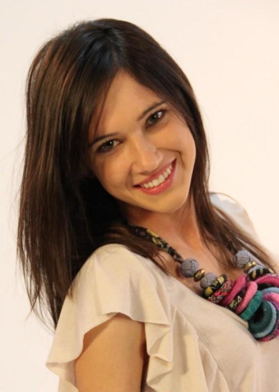 Lodovica Comello in una foto promozionale per la serie tv Violetta