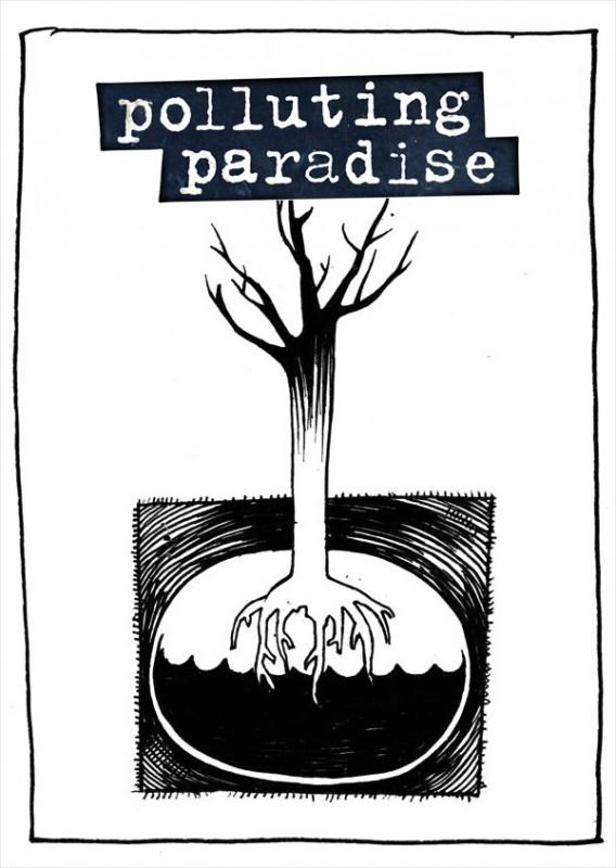Polluting Paradise: il poster del film di Fatih Akin