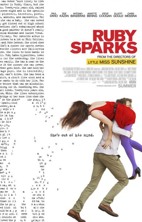 Ruby Sparks: la locandina del film