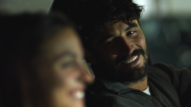 VERÓNICA ECHEGUI nel film Seis puntos sobre Emma con ALEX GARCIA