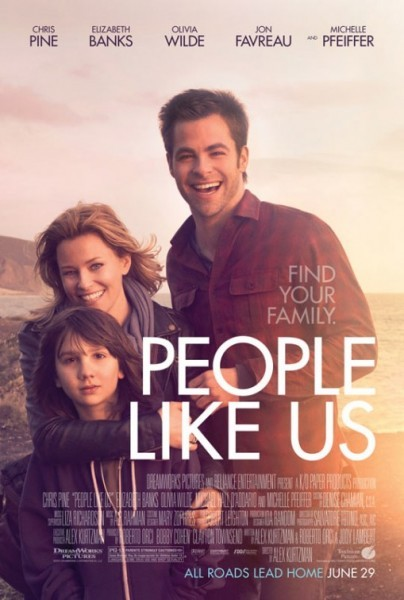 People Like Us: la locandina del film