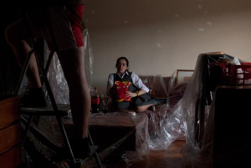 3: Anaclara Ferreyra Palfy nei panni dell'adolescene Ana in una scena del film