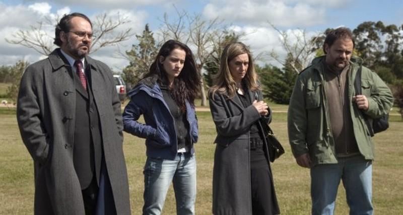 3: Sara Bessio, Anaclara Ferreyra Palfy, Néstor Guzzini e Humberto de Vargas in una scena del film