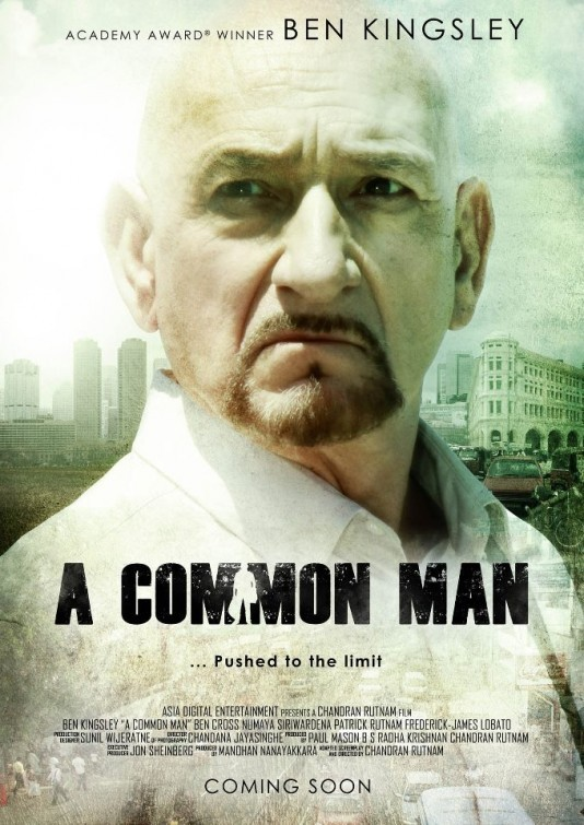 A Common Man: la locandina del film