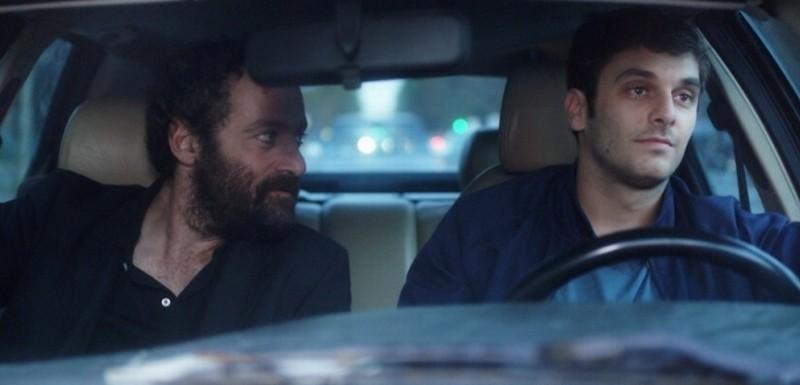 Alyah: Pio Marmaï e Cédric Kahn in una scena del film