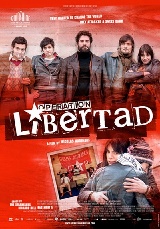 Opération Libertad: il poster del film