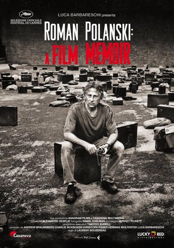 Roman Polanski: A Film Memoir, la locandina italiana del film
