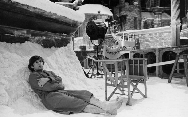 Roman Polanski: A Film Memoir, un'eccentrica immagine di Roman Polanski tratta dal film