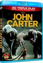 La copertina di John Carter 3D (blu-ray)