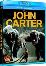 La copertina di John Carter (blu-ray)