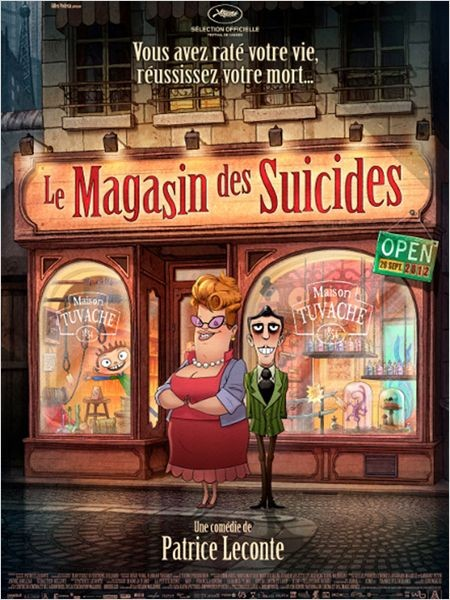 Le magasin des suicides: nuovo poster per il film d'animazione di Patrice Leconte