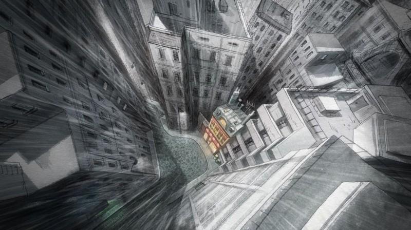 Le magasin des suicides: un'immagine del film d'animazione diretto da Patrice Leconte