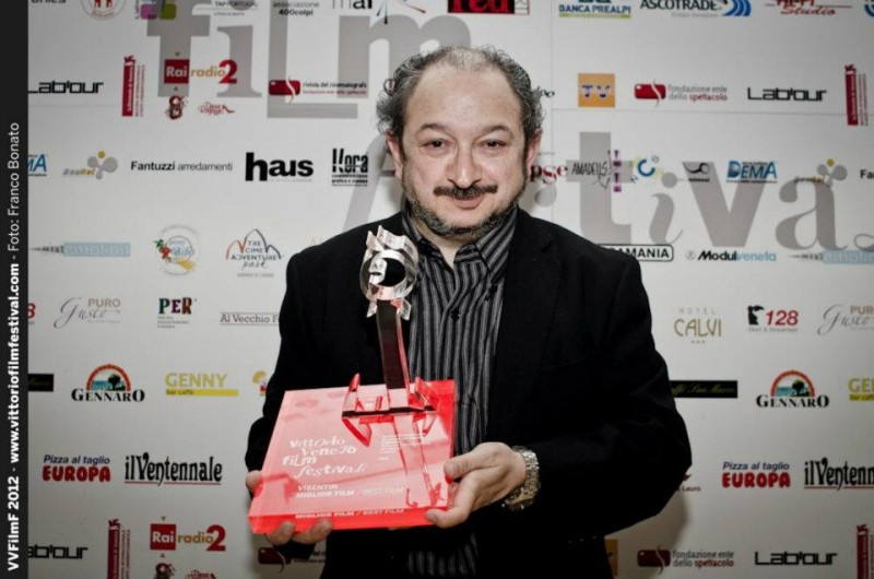Orfeo Orlando, con il Premio Miglior Film a Krokodyle, al Vittorio Veneto Film Festival 2012