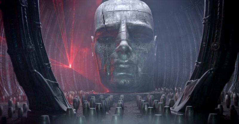 Prometheus: una splendida e imponente immagine tratta dal film