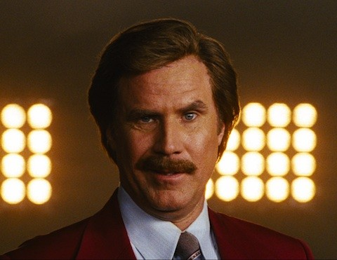 Will Ferrell è Ron Burgundy nella prima immagine di The Anchorman 2