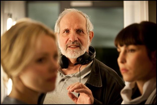 Brian de Palma tra Rachel McAdams e Noomi Rapace sul set di Passion