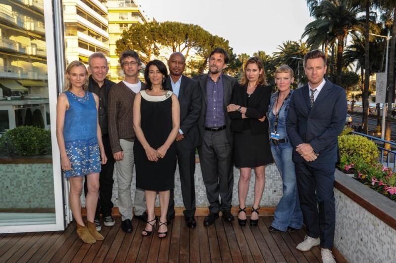 Cannes 2012: i giurati della 65esima edizione del Festival, guidati da Nanni Moretti.