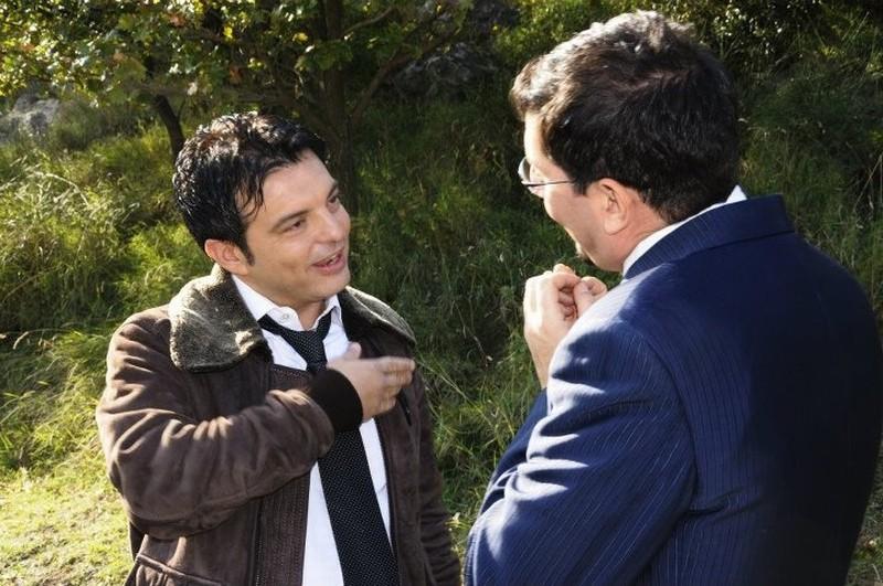 Fallo per Papà: Ciro Ceruti e Ciro Villano, protagonisti e registi del film, in una scena