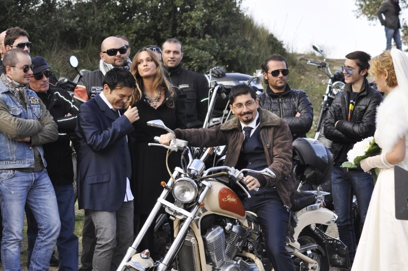 Fallo per Papà: Ciro Ceruti, roberta Giarrusso e Ciro Villano in una scena