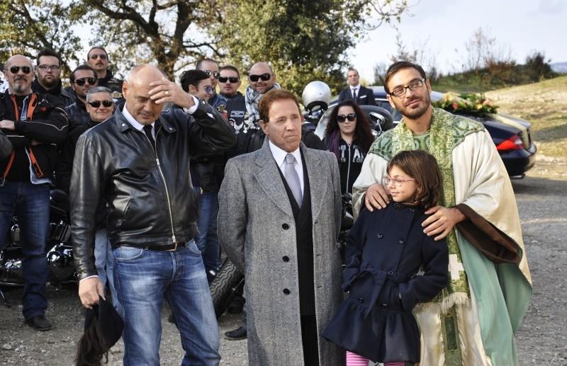 Fallo per Papà: Massimo Bonetti, Salvio Simeoli insieme a Giacomo Rizzo sul set del film