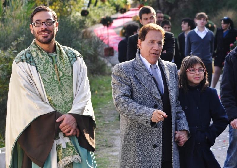 Fallo per Papà: Salvio Simeoli e Giacomo Rizzo in una scena del film