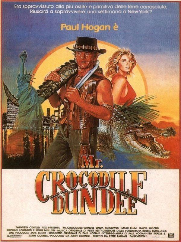Mr. Crocodile Dundee - locandina