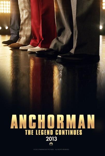 The Anchorman 2: ecco il teaser poster