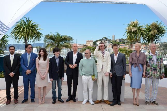 Il cast di Moonrise Kingdom al completo a Cannes