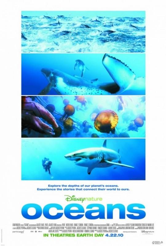 La vita negli oceani: la locandina internazionale del film