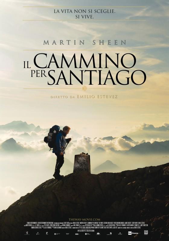 Il cammino per Santiago: la locandina italiana del film