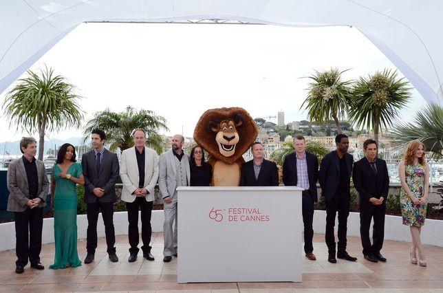 Il cast di Madagascar 3: ricercati in Europa al completo a Cannes