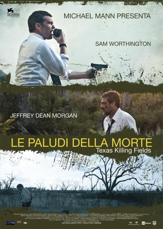Le paludi della morte: la locandina italiana del film