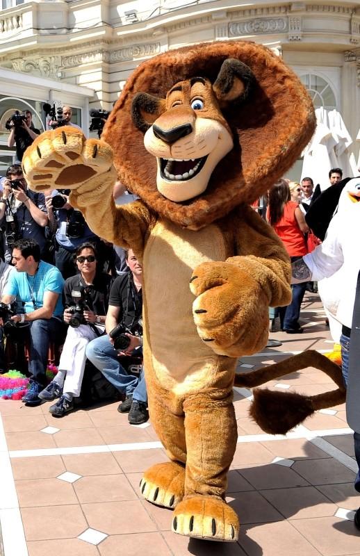 Madagascar 3: ricercati in Europa, Alex il leone arriva a Cannes per l'anteprima mondiale del film