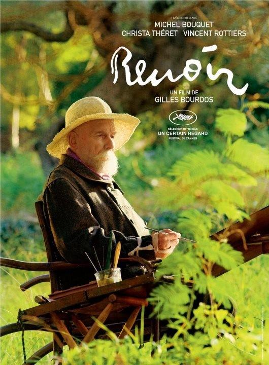 Renoir: Michel Bouquet in uno dei poster del film