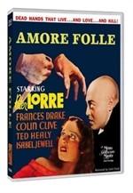 La copertina di Amore folle (dvd)