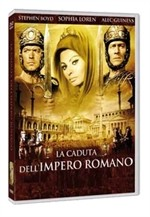 La copertina di La caduta dell'impero romano (dvd)