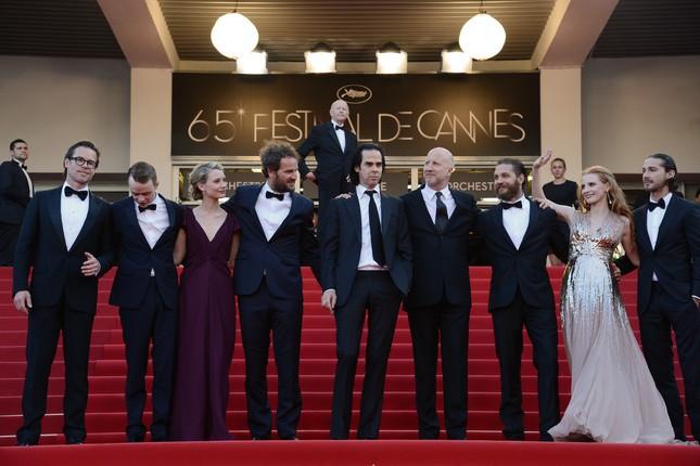 Il cast di Lawless al completo a Cannes