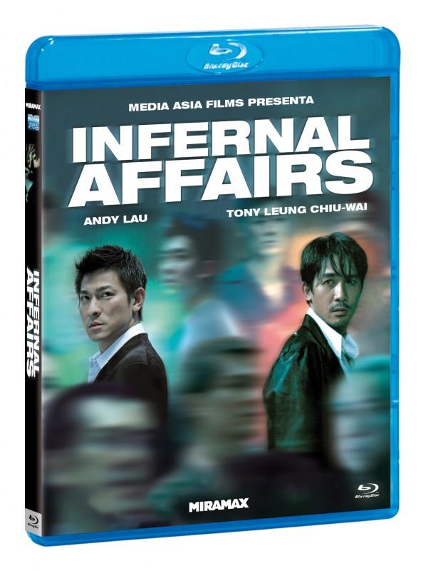 La copertina di Infernal Affairs (blu-ray)
