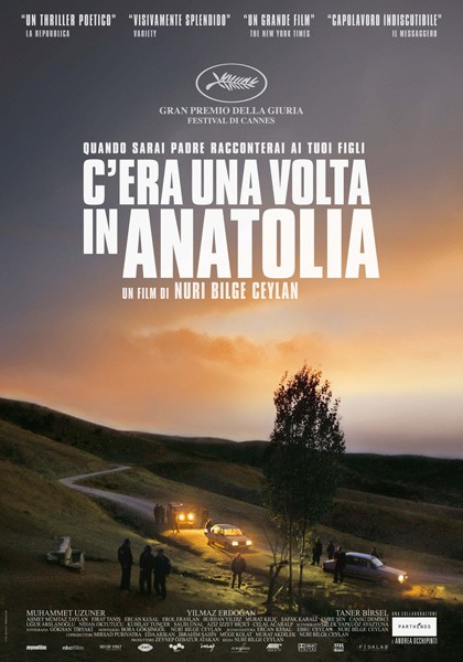 Once Upon a Time in Anatolia: la locandina italiana