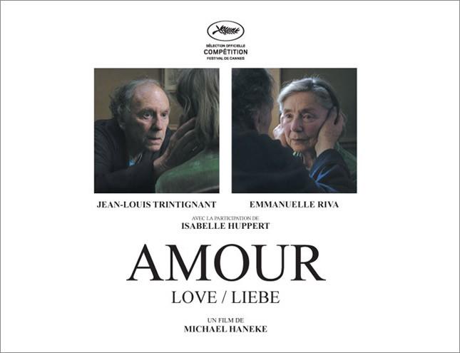 Amour: il primo poster del film
