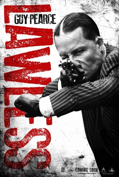 Character poster di Guy Pearce in Lawless