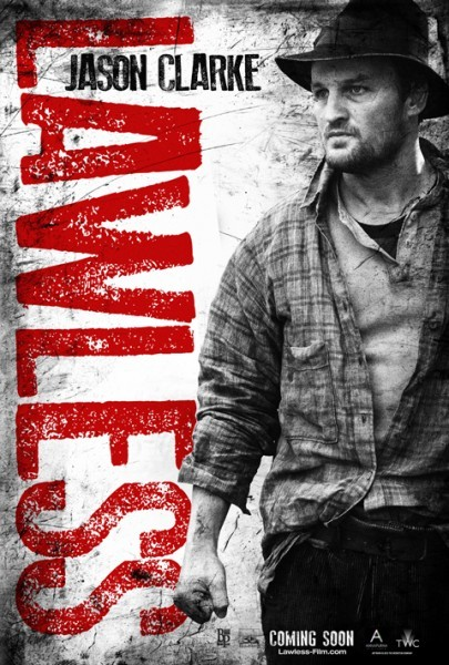 Character poster di Jason Clarke in Lawless